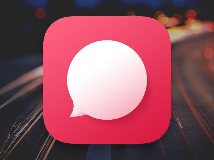 Chat Bubble App Icon