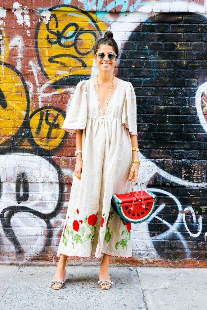 In An Outfit Rut? Try a Big, Burlap Dress - Man Repeller