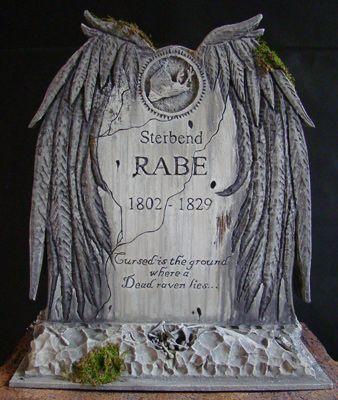 Raven Tombstone: Tutorial - Blogs - Halloween Forum