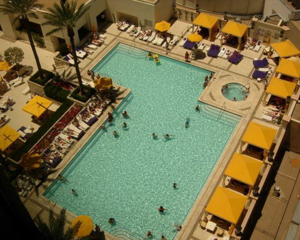 Planet Hollywood Pool Las Vegas Las Vegas Table Minimums Central Location Well As