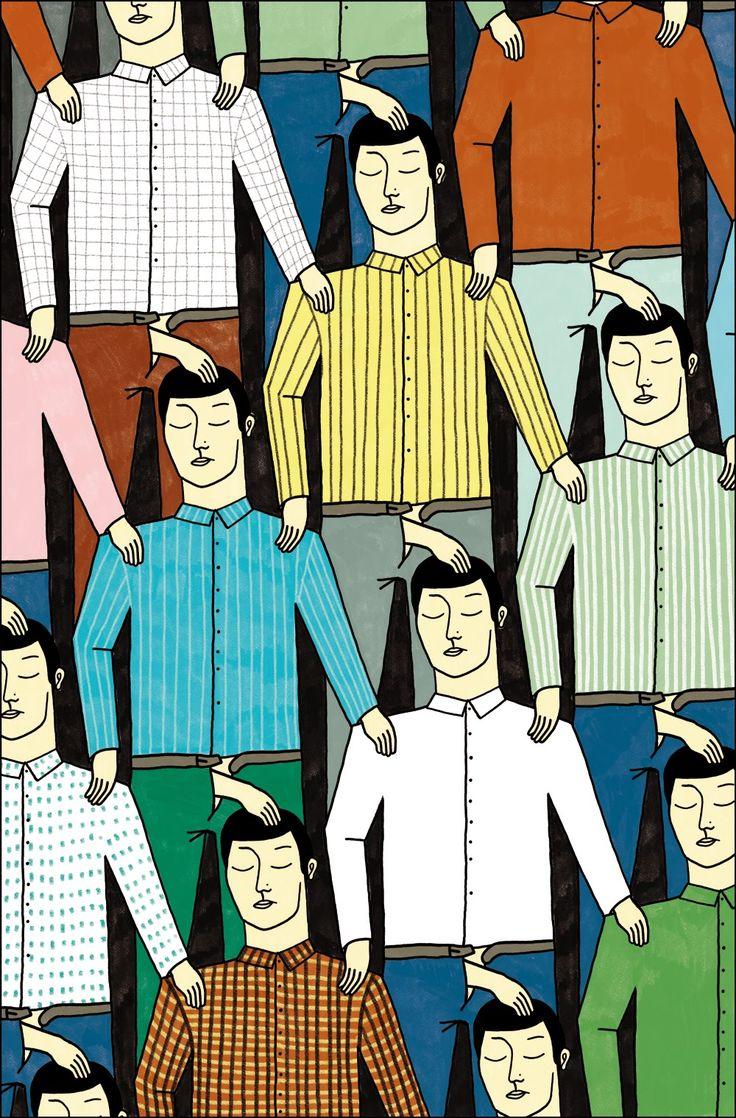 Jan Sedmak e il suo personale racconto breve illustrato http://www.casatanguy.com/