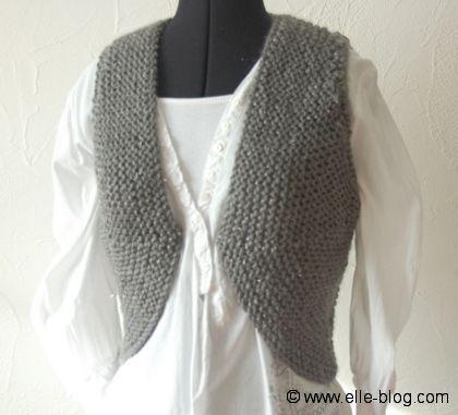 5987de5182eb photo tricot modele tricot gilet sans manche femme gratuit 18 ...
