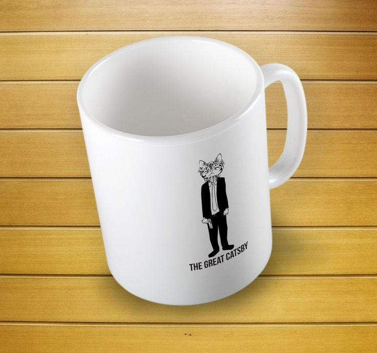 The Great Catsby Cute Mug