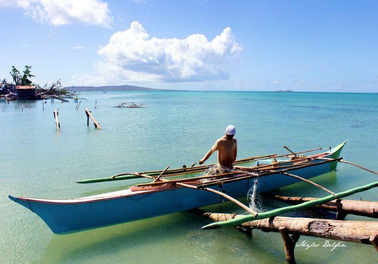 Crab Fisherman of Tubabao Island, Samar, Philippines.