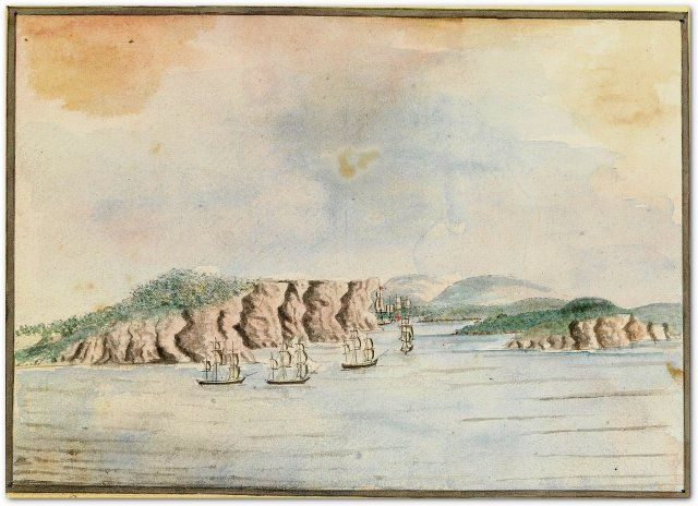 Who recommended the penal colony should be in Botany Bay?  Find out why the First Fleet traveled north to Port Jackson.