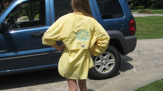 Monogrammed COLUMBIA Men's Fisherman PFG shirts by AliciaBeam, $65.00