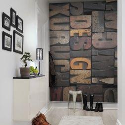 Photo mural of Woodcut, Design Interior