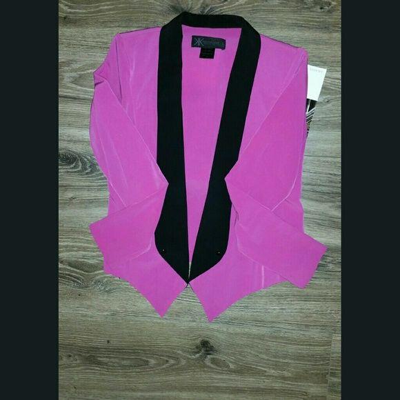 Kardashian kollection tux style  blazer In Excellent condition Kardashian Kollection Jackets & Coats Blazers