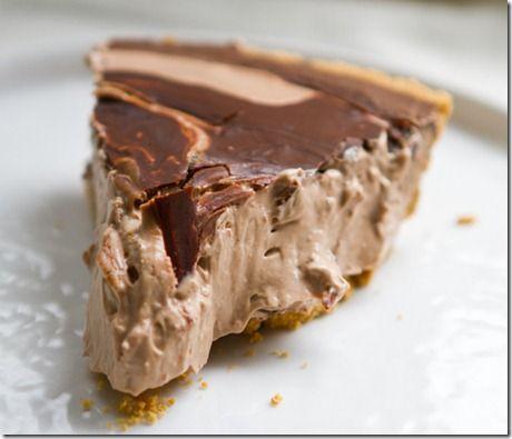 Chocolate mousse pie #thanksgiving #pie #recipe