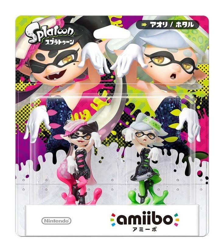 amiibo Splatoon Aori and Hotaru [Japan Import] Free International Shipping #Nintendo