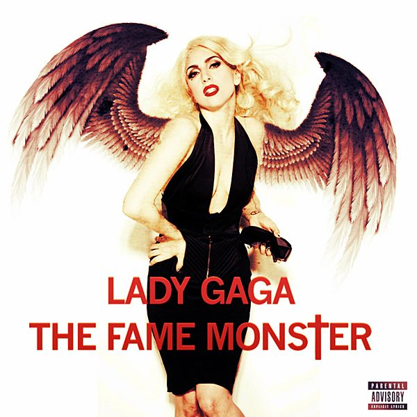 lady gaga album covers | Lady GaGa - The Fame Monster CD Cover by GaGanthony