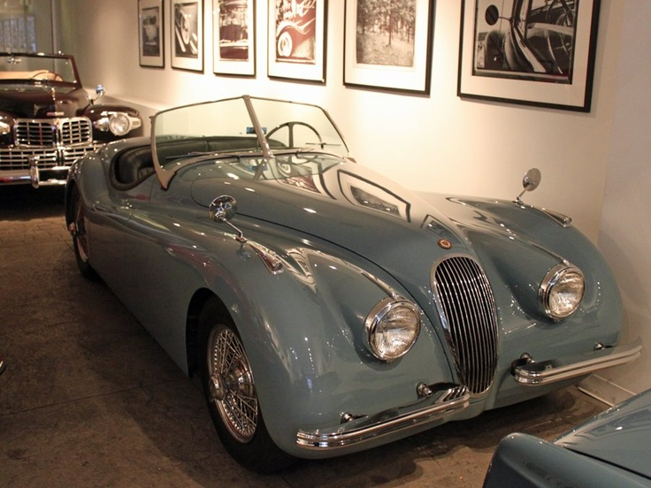 car paradise this manhattan gallery has an unbelievable collection of vintage rides