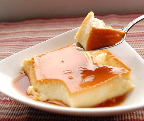 Rustic Flan | Hispanic Kitchen