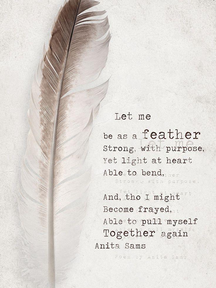 Bildergebnis für a touch of a feather