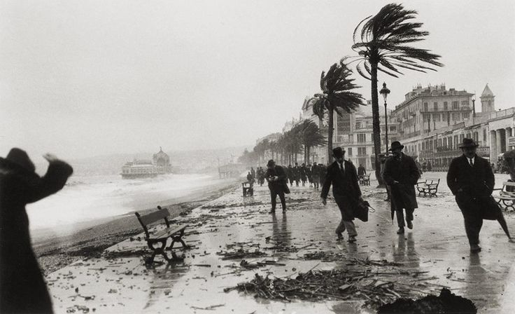 Storm in Nice, France, 1925 by Jacques-Henri Lartigue