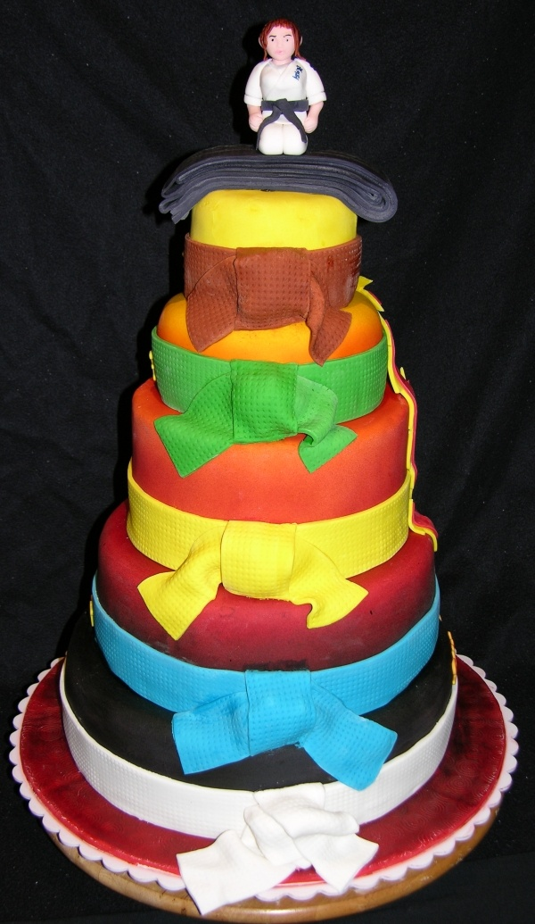 1000+ images about Karate cakes on Pinterest Karate cake ...