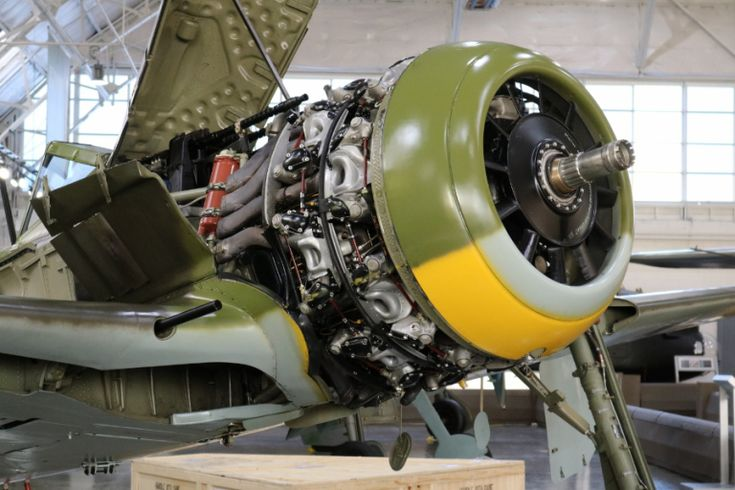The mighty BMW 801 D-2 radial engine of the Fw-190A-5 Flying Heritage Collectoon