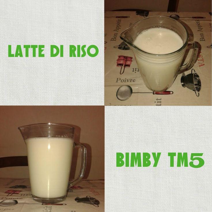 Latte di Riso Bimby TM5