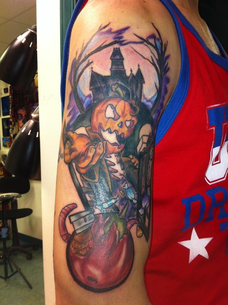 Halloween Tattoo Ideas: 76 Best Halloween Tattoos Images On Pinterest
