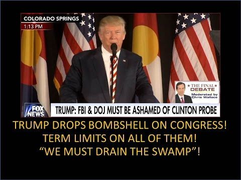 Trump Just Dropped A Nuclear Bomb On Congress! We Have To Drain The Swamp! - YouTube 8:16 pub  Oct 18, 2016 ... ... EXCELLENT, HIS PLANS