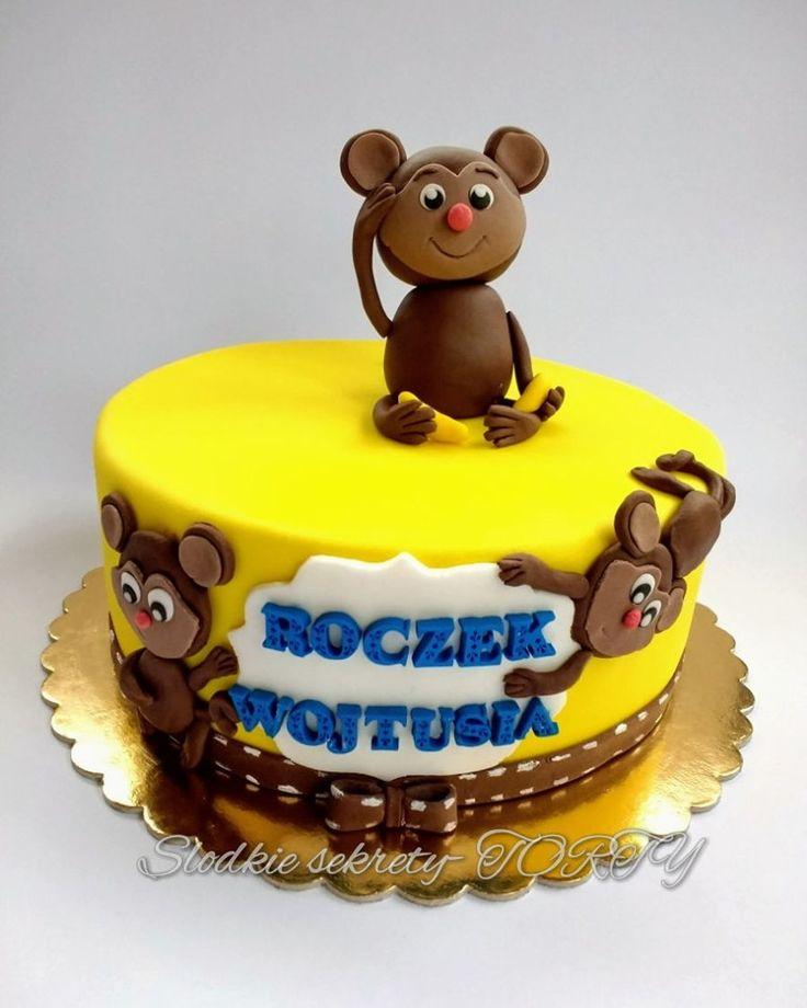 Monkey Cake First birthday :)