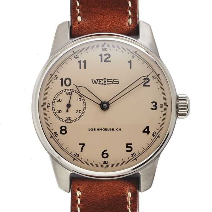 American Issue Field Watch | Latte Dial with CAL 1003