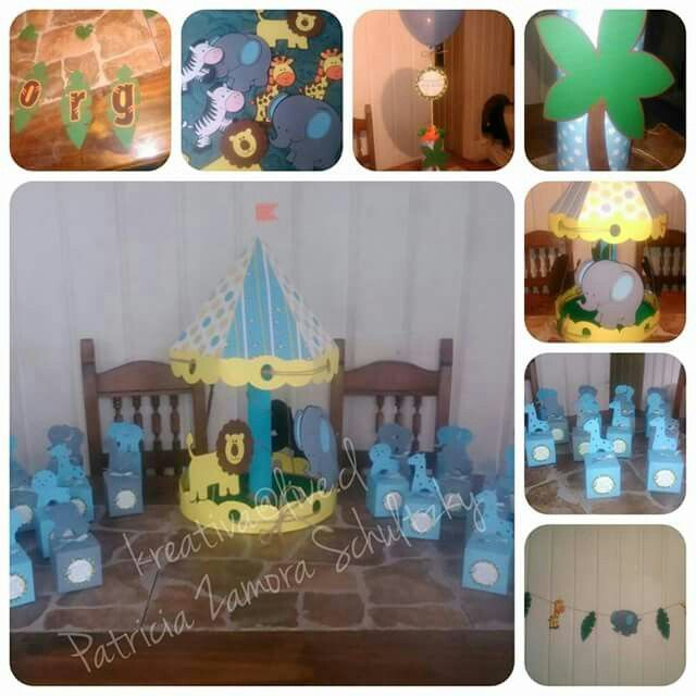 Baby shower Jungla