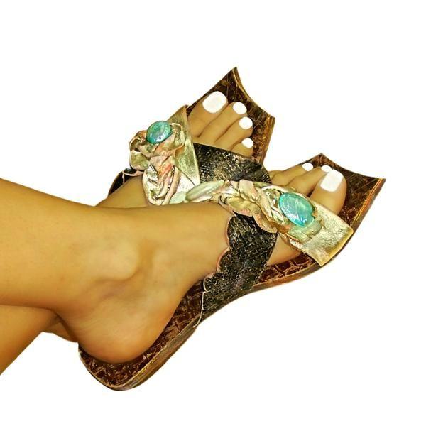 Dilos 4 quadra - flat sandal