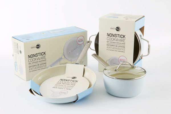 Non-Stick Cookware Packaging by Arnau Dot Sayos, via Behance