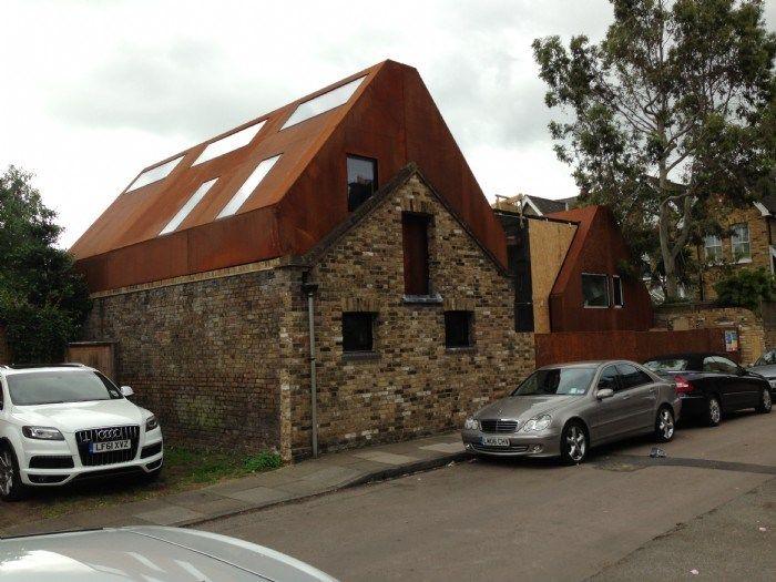 Acciaio Corten - Acciaio corten tetto - Belle Dimore - Arredi e Complementi di Lusso - Pavimenti e rivestimenti