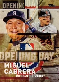 2018 Topps - MLB Opening Day #OD-16 Miguel Cabrera Front