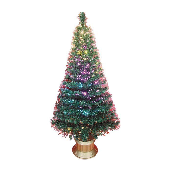 Shop Northlight  6-ft Pre-Lit Color Changing Fiber Optic Artificial Christmas Tree at The Mine. Browse our artificial christmas trees, all with free shipping and best price guaranteed.