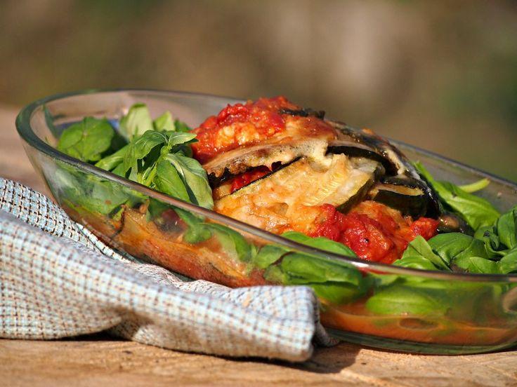 Parmigiana di zucchine (zapečené cukety s rajčaty)