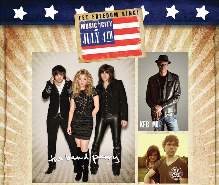july 4th songs country