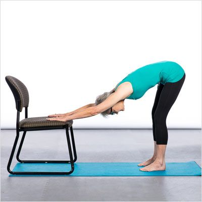 17 best ideas about chair yoga poses on pinterest office for Chair yoga seniors