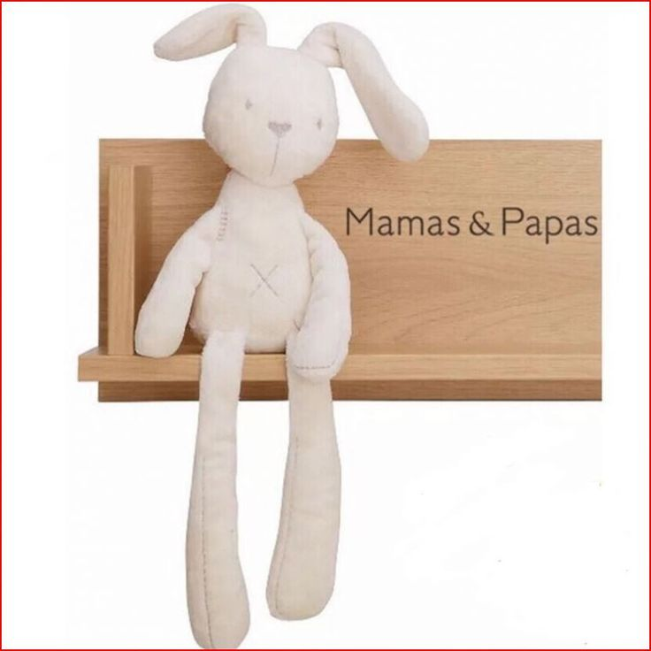 50cm Mamas & Papas baby rabbit sleeping comfort doll plush toys Soft Plush Smooth Obedient Rabbit Sleep Calm Doll Плюшевая Игрушка