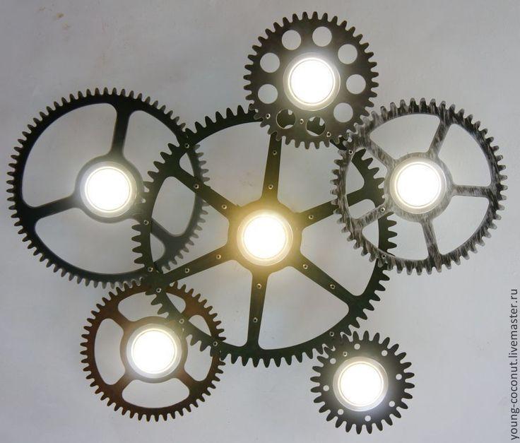 """Люстра """"Time to shine.Metallife"""" - люстра,свет,светодиоды,лампа,лофт,индустриальный стиль"""