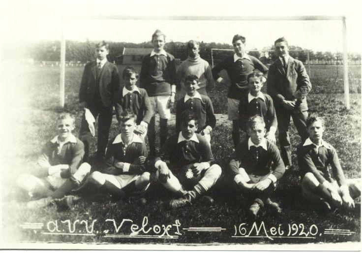 Amsterdamse voetbal vereniging Velox 1e team