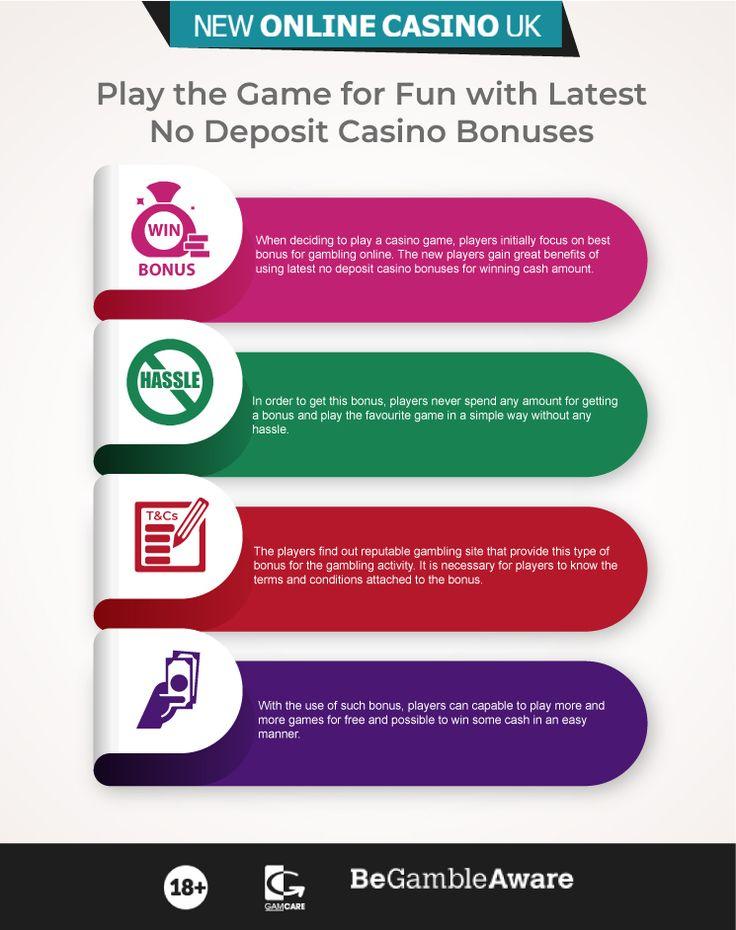 Online Games No Deposit Bonus