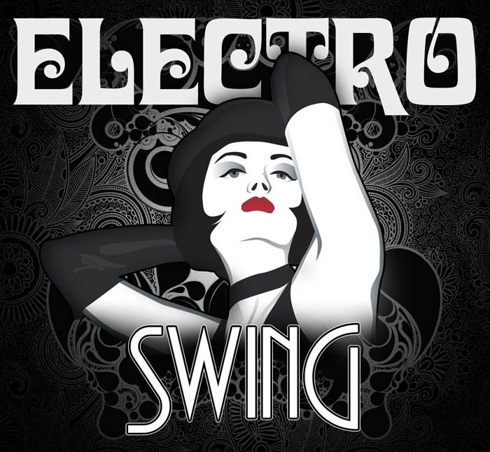 Electro Swing | CD cover design