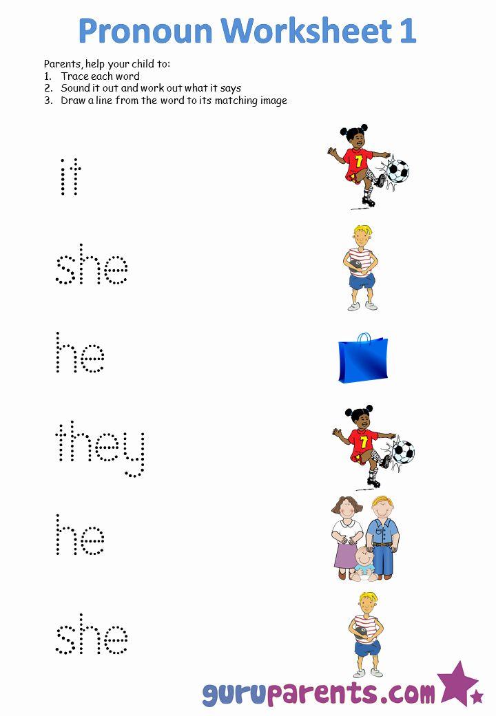 Kindergarten Grammar Worksheets Pronoun Worksheets Kindergarten Worksheets Free Kindergarten Worksheets