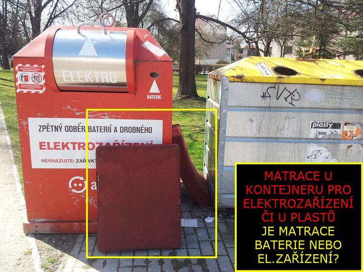 Třídění odpadu v ČR   Jak přidělávat práci ostatním?