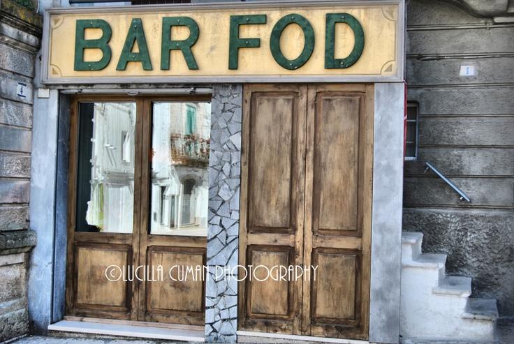 Really nice bar in Cisternino, Puglia.