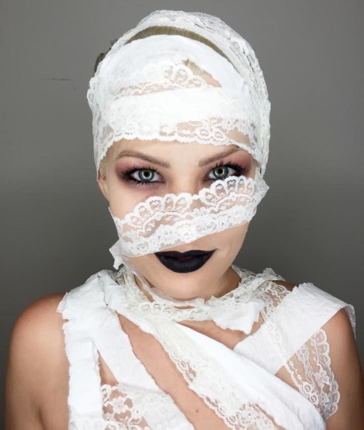546 best Halloween Customes  Makeup images on Pinterest Carnivals - cute makeup ideas for halloween