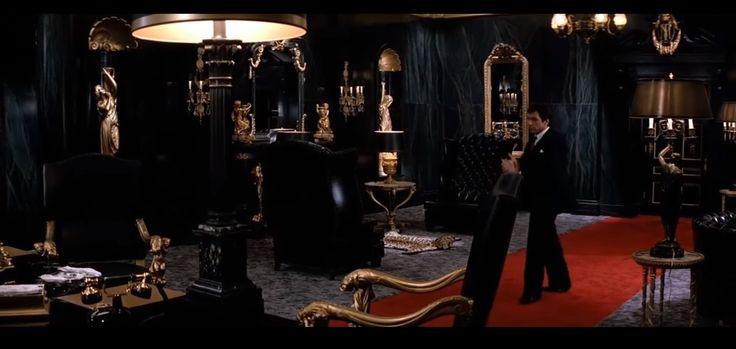 Scarface, Tony's Office | Floor to ceiling windows