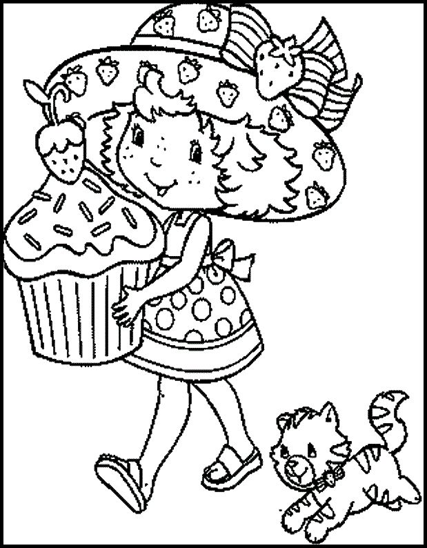 40 best Strawberry Shortcake images on Pinterest Coloring