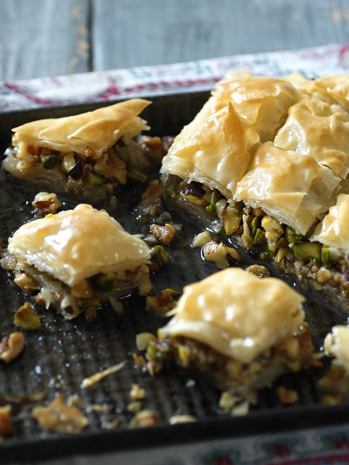 Nutty, crisp and sticky sweet- our baklava is lightly scented with orange flower water that will transport you to Morocco. No plane tickets required!