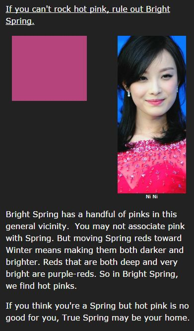 Bright Spring's Hot Pink
