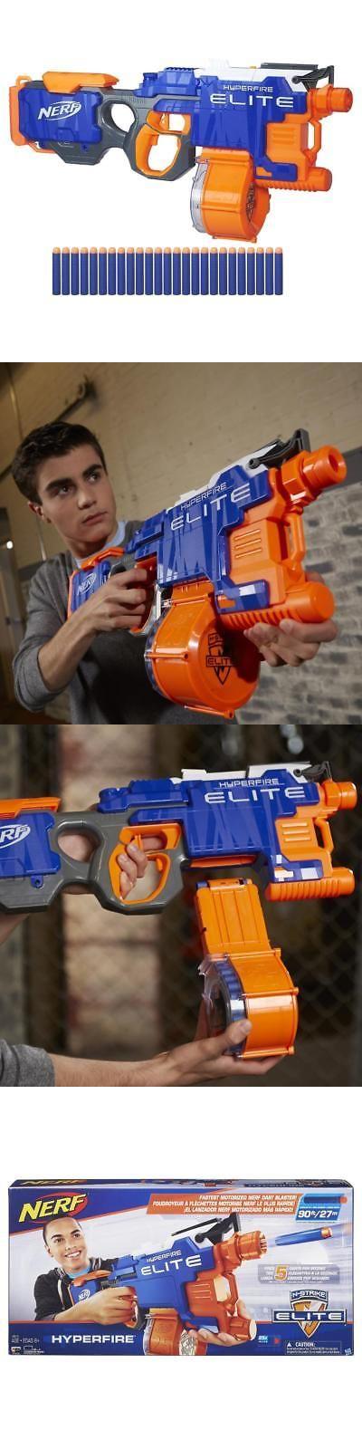 Dart Guns and Soft Darts 158749: Nerf N-Strike Elite Hyperfire Blaster -> BUY IT NOW ONLY: $37.59 on eBay!
