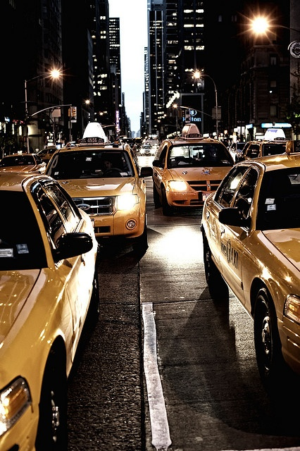 You haven't experienced a true Taxi ride until you go for one in NYC! Woo Hoo!